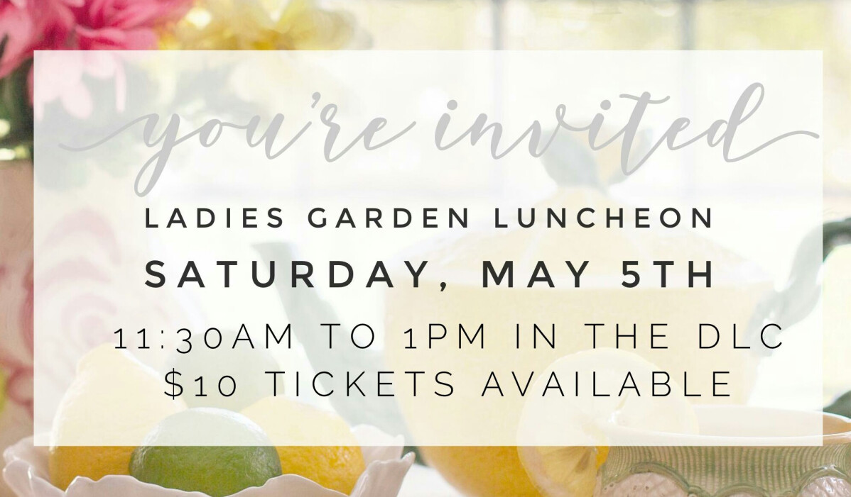 Ladies Garden Luncheon